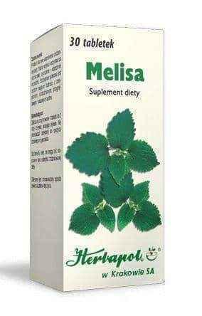 Lemon balm x 30 tablets