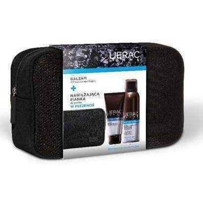 Lierac Homme set Moisturizing Lotion 50ml + Shaving Foam 150ml gift.