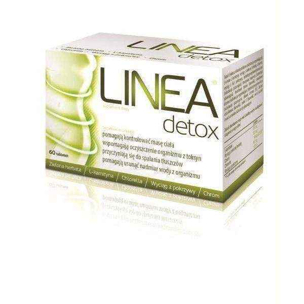Best cleanse for weight loss Linea Detox x 60 tabl. - ELIVERA UK, England, Britain, Review, Buy
