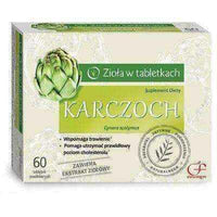 Liver tonic, natural cleanse KARCZOCH x 60 tablets.