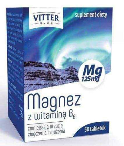 MAGNESIUM with vitamin B6 x 50 tablets