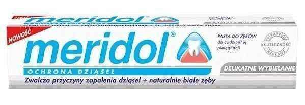 MERIDOL Gentle whitening toothpaste 75ml