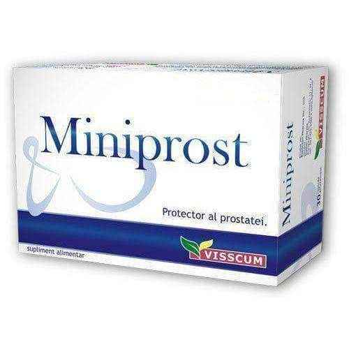 MINIPROST x 30 capsules, enlarged prostrate, saw palmetto extract UK
