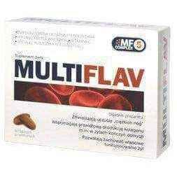 MULTIFLAV x 60 tablets, blood vessels.