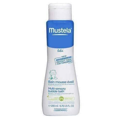 MUSTELA Bebe bubble bath Bubble bath 200ml for newborns, infants and children