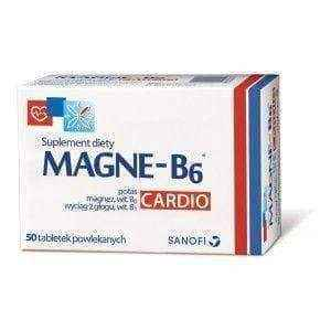 Magne B6 Cardio x 50 tablets, magnesium and b6 supplements