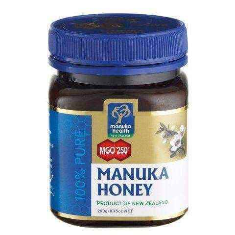 Manuka Honey MGO 250+ 250g, manuka honey benefits.