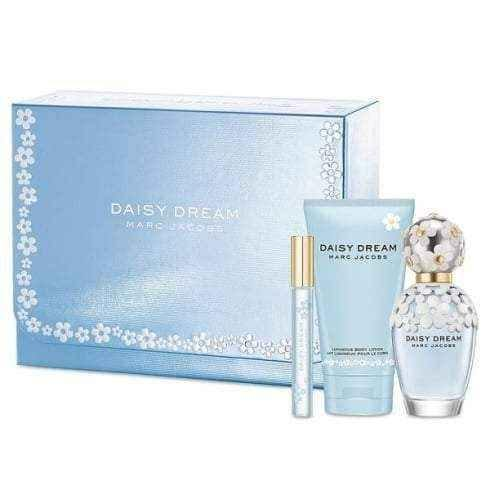 43d717afee9c UK Marc Jacobs Daisy Gift Set 100ml EDT + 150ml Body Lotion + 4ml ...