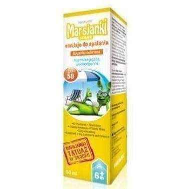 Martians Solar sun lotion SPF50 50ml