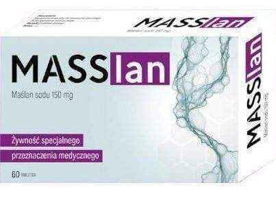 Masslan Sodium Butyrate 150mg x 60 tablets - ELIVERA