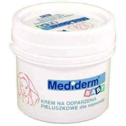 Mediderm Baby Cream for diaper rinsing for babies 125g