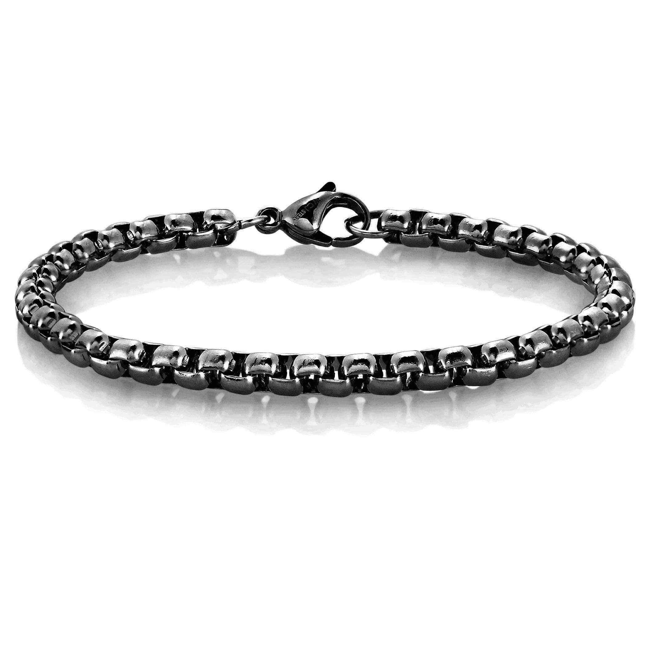 orders on shipping bracelet product over steel watches cross jewelry stainless free horizontal overstock necklace