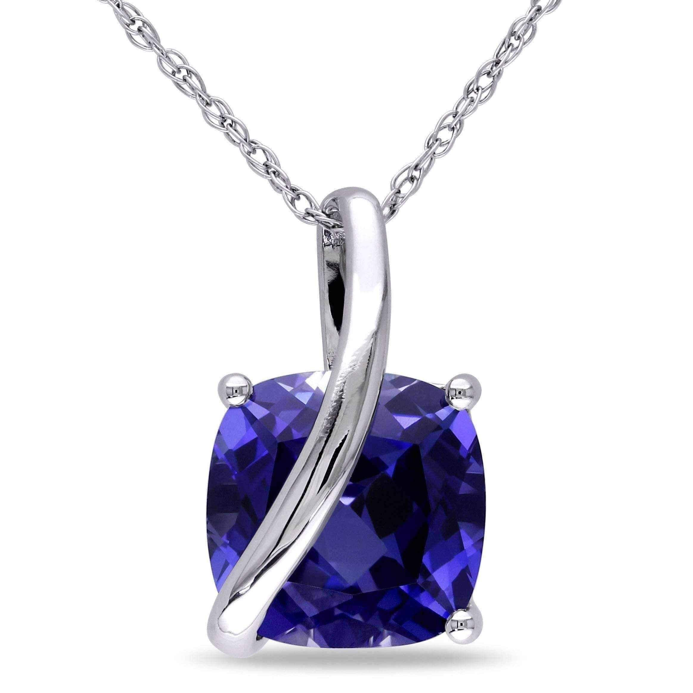 blue white estate whi necklace diamond sapphire and gold p htm