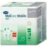 MoliCare Mobile light absorbent pants size M x 14 pieces