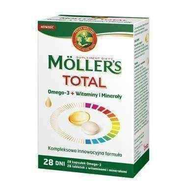 Mollers Mama Omega 3 x 28 capsules + Vitamins and Minerals x 28 tablets