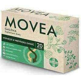 Movea Galena x 20 capsules, prevent constipation