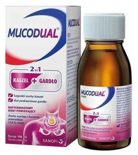 Mucodual syrup 100ml