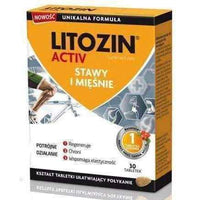 Muscles and joints, Litozin Activ x 30 tablets.