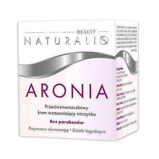 NATURALIS ARONIA ANTI WRINKLE CREAM 50ml strengthening capillaries
