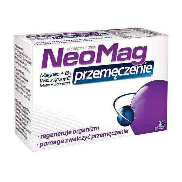 NEOMAG Overwork x 50 tablets, chronic fatigue syndrome, why am i always tired