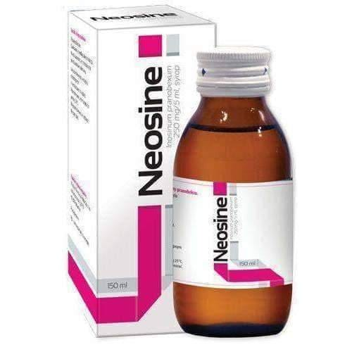 NEOSINE 0.25g / 5ml syrup 150ml antiviral properties UK