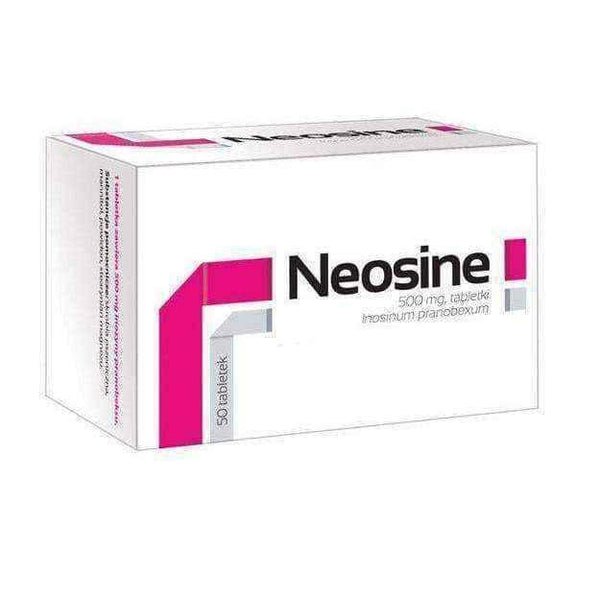 NEOSINE 0.5g x 50 tablets.
