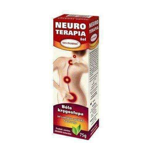 NEURO THERAPY gel 75g spinal stenosis, arthralgia myalgia, osteoporosis, trigeminal neuralgia treatment