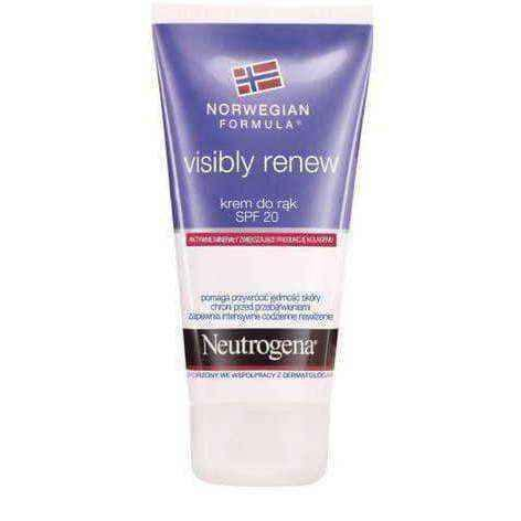 NEUTROGENA Visibly FN renew Hand Cream SPF 20 75ml