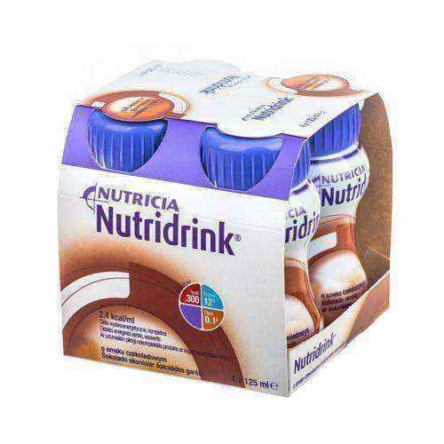 NUTRIDRINK flavored chocolate 4 x 125ml
