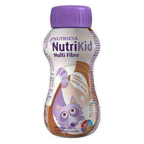 NUTRIKID Multi Fiber with chocolate flavor 200ml.