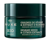 NUXE BIO Illuminating detoxifying mask - extract of citrus and sesame seeds 50ml.