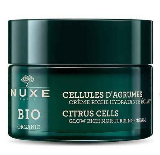 NUXE BIO Illuminating moisturizing cream with a rich texture - citrus extract 50ml.