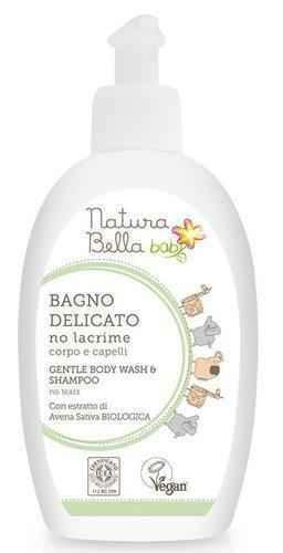 Natura Bella baby NO TEARS 2in1 Gentle Bath Foam and Shampoo 300 ml