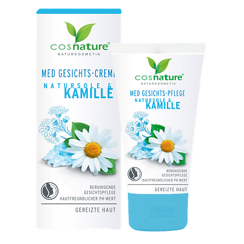 Natural face cream with brine and camomile MED 50ml.