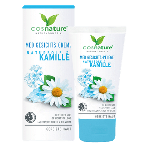 Natural face cream with brine and camomile MED 50ml