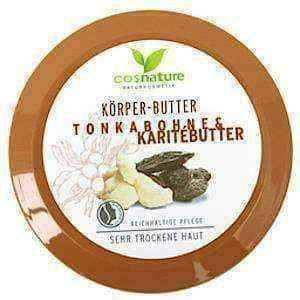 Natural, nourishing body butter with shea butter and toning 200ml