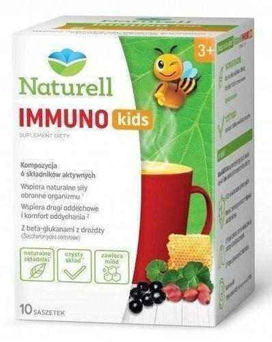 Naturell Immuno Hot Kids x 10 sachet.