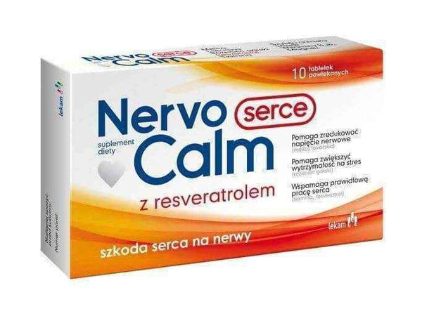 NervoCalm Heart x 10 tablets