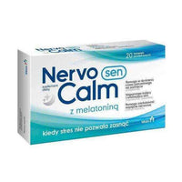 NervoCalm Sen x 20 tablets, signs of stress.