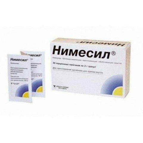 !Nimesil 100mg Sachets for oral suspension 2g N30