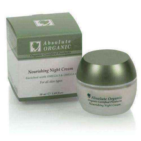Nourishing night cream 50 ml, organic night cream