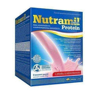 Nutramil complex Protein strawberry flavored sachets x 6 UK