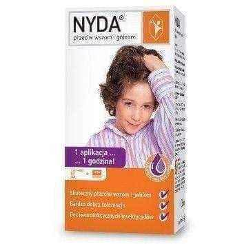 Nyda against head lice and gnidom 50ml, dimethicone, head lice