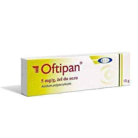 OFTIPAN eye gel 10g - ELIVERA UK, England, Britain, Review, Buy