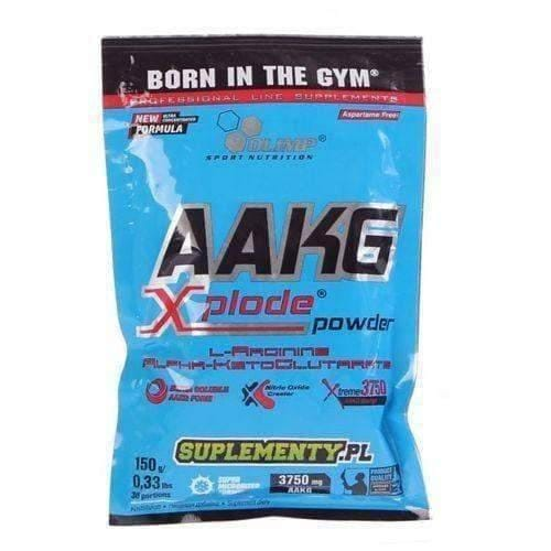OLIMP AAKG Xplode powder 150g absorbable arginine alpha-ketoglutarate L-arginine