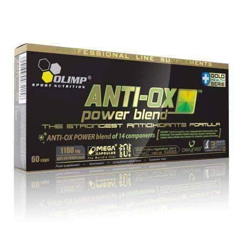 OLIMP Anti-Ox Power Blend x 60 capsules The active substances of fruits and vegetables UK
