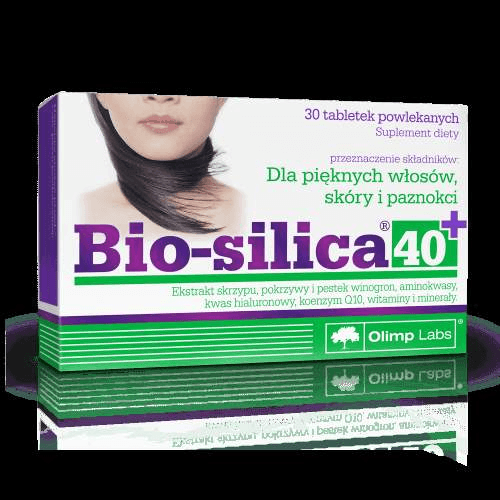 OLIMP BIO SILICA-40+ x 30 tablets aimed for mature women