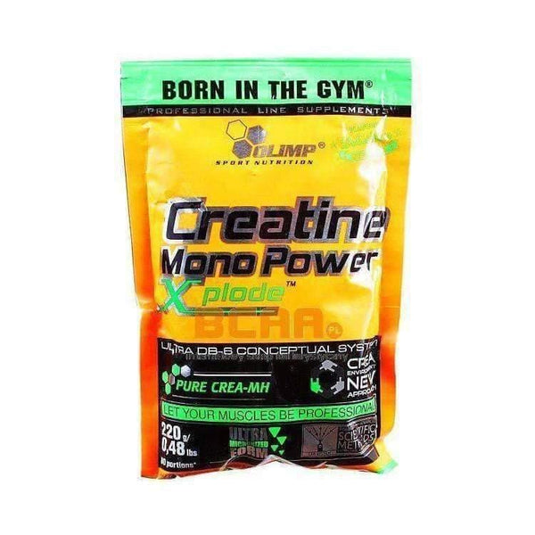 OLIMP CREATINE MONO POWER XPLODE™ ULTIMATE MUSCLE MASS PUMP 220g