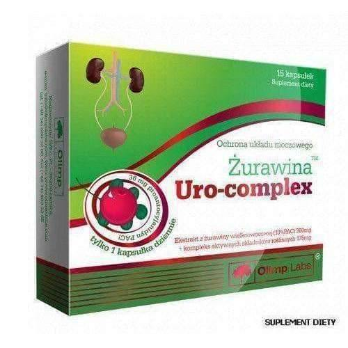 OLIMP Cranberry Uro-Complex x 15 caps. urinary tract infection treatment