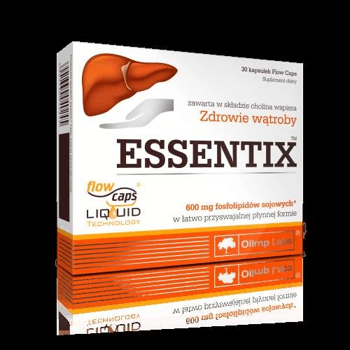 OLIMP Essentix x 30 capsules supporting the functioning of the liver